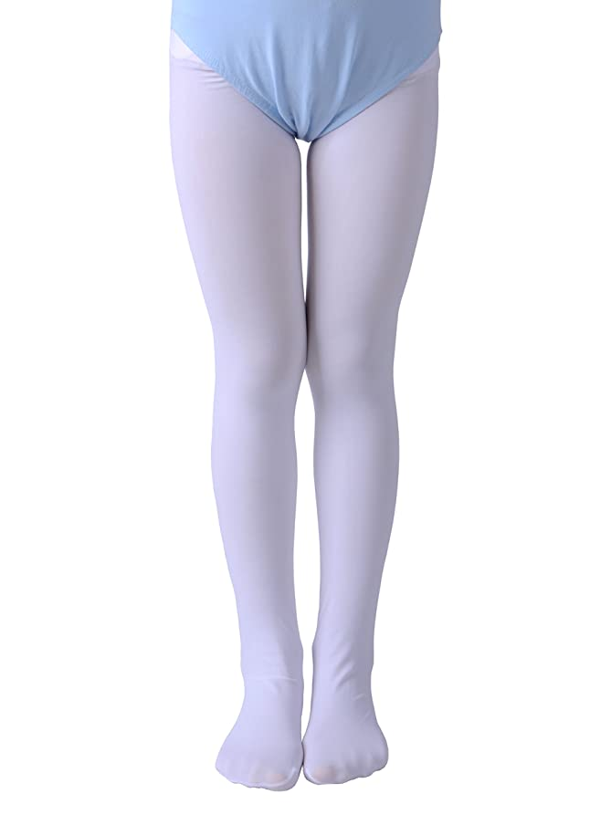 Leg Elegant Girls' Ultra Soft Pro Dance Tights/Ballet Footed Tights