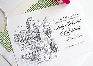 Las Vegas Caesars Palace Destination Wedding Save the Dates (Set of 25)
