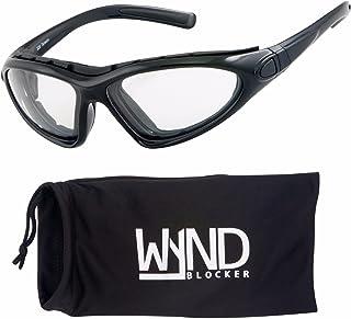 WYND Blocker Vert Motorcycle & Outdoor Sports Wrap Around Sunglasses