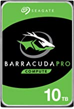 Seagate Barracuda Pro SATA HDD 10TB 7200RPM 6Gb/s 256MB Cache 3.5-Inch Internal Hard Drive for PC Desktop Computers System...