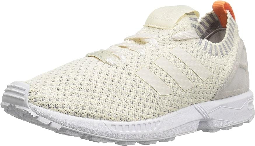 Adidas Femme ZX Flux PK Running chaussures 8 états-Unis La Craie Blanche Clear Granite 6.5 Royaume-Uni