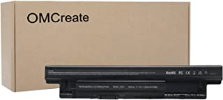 OMCreate Battery Compatible with XCMRD for Dell Inspiron 3521 3421 3537 3721 5521 5537 5737, Latitude 3440 3540 E3540; fits P/N MR90Y YGMTN 9K1VP 0MF69 N121Y - 12 Months Warranty