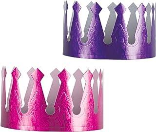 Beistle 66053 72-Pack Embossed Foil Crowns