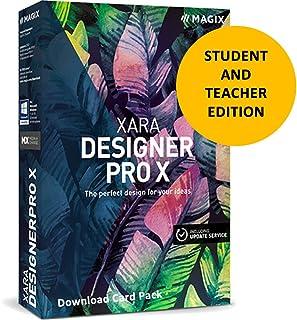 MAGIX Xara Designer Pro X v15 for Students & Teachers [Download Card]
