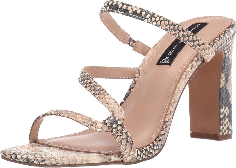 STEVEN by Steve Madden Women's Jerri Heeled Sandal