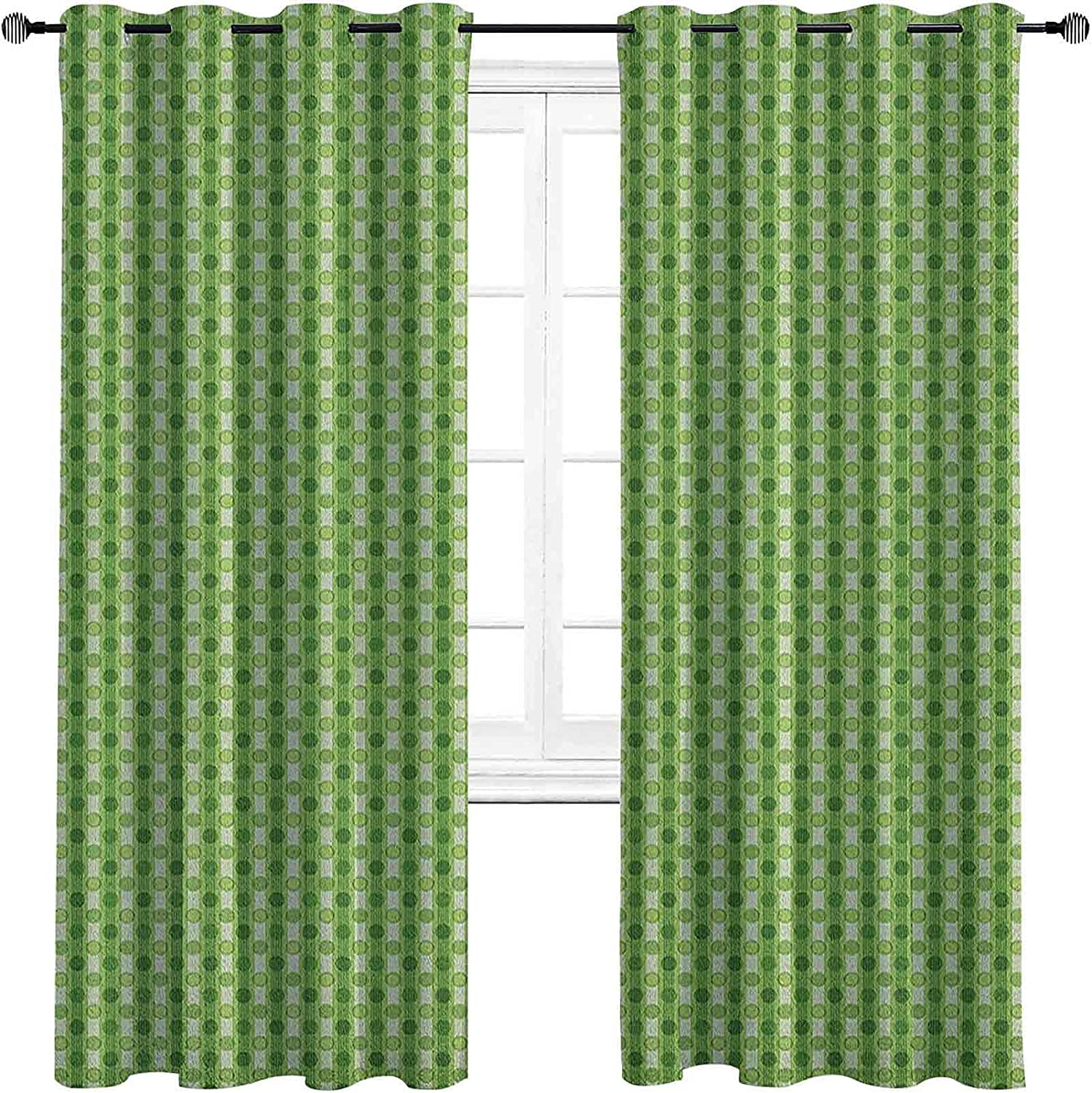 Abstract The Living Room has Curtains Some reservation Powerful Blackout S Retro Classic