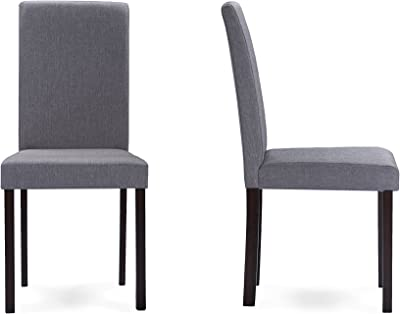 Amazon Com Lssbought Set Of 2 Luxurious Fabric Dining