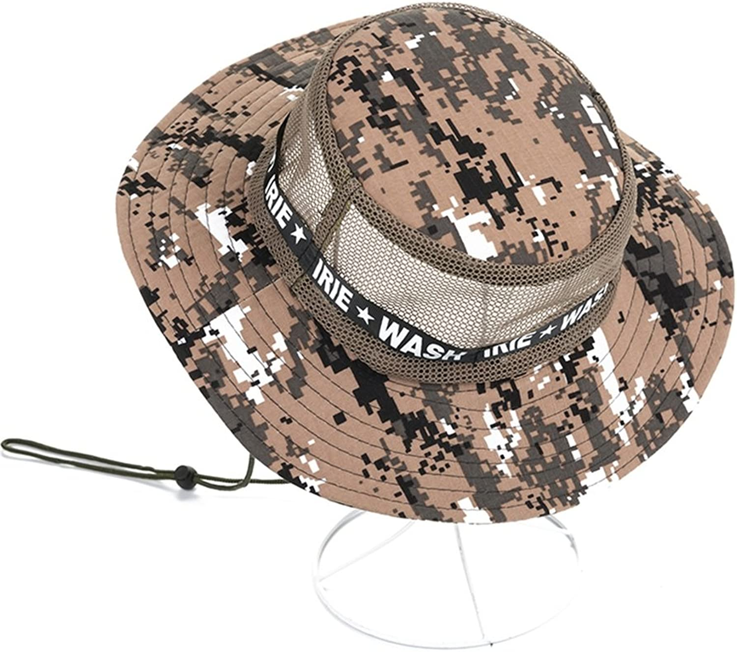 18463966 Hat Summer Hat, Sun Hat Men Foldable with UV Predection Predection  Predection Wide Brim Ventilate Climbing Fishing, 6 colors Optional (color 2  ) d16afb