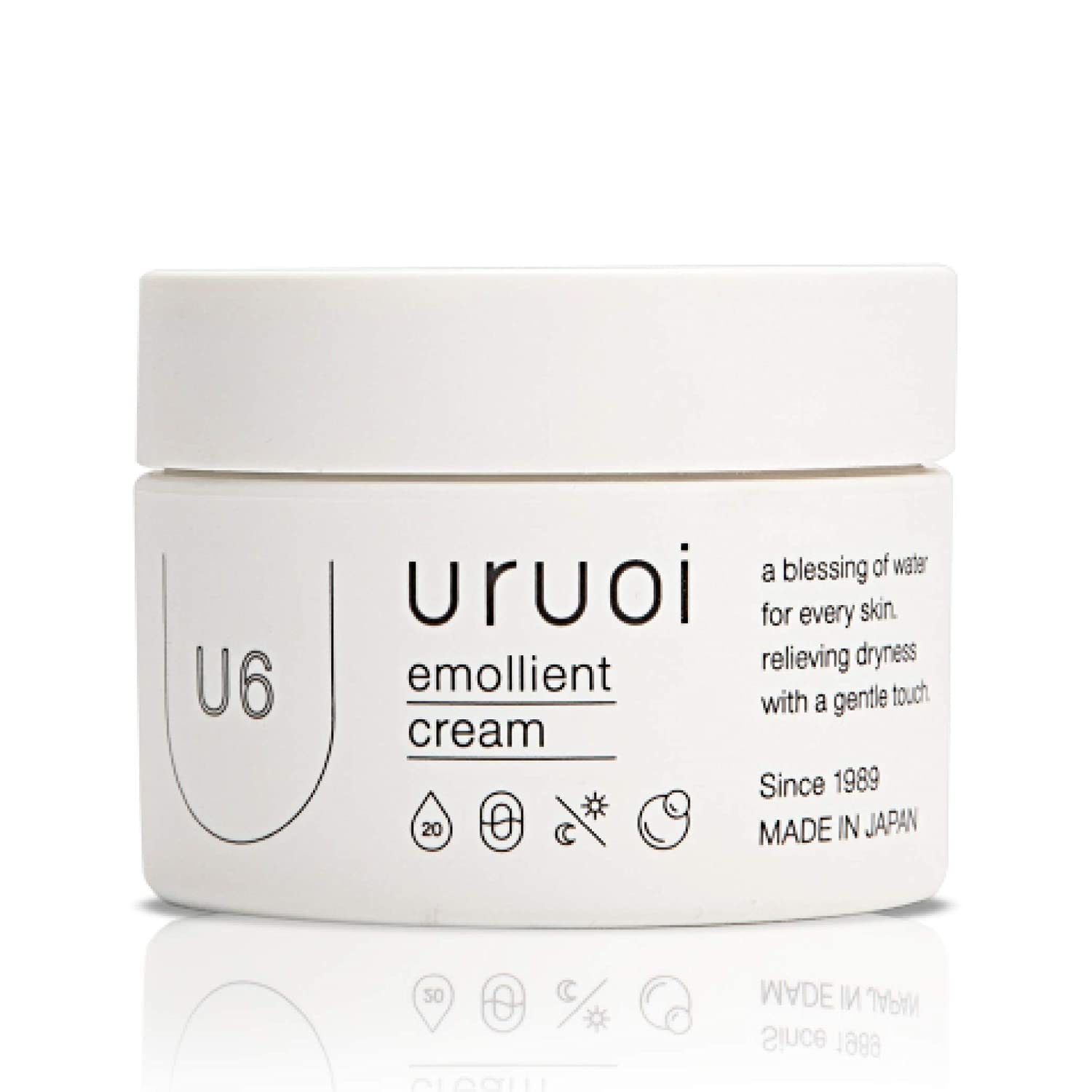 uruoi U6 Emollient Special price Cream 1.4 oz Our shop OFFers the best service Eye Aging - Japanese Anti