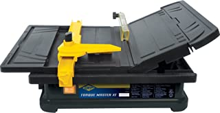 QEP 22400Q 3/5 HP Torque Master Tile Saw, 4-Inch,Black/Yellow