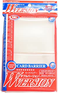 KMC 80 Card Barrier W Version (8 Packs/Total 640)