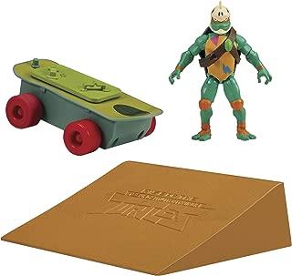 Rise of the Teenage Mutant Ninja Turtle Skateboard Vehicle with Michelangelo Figure