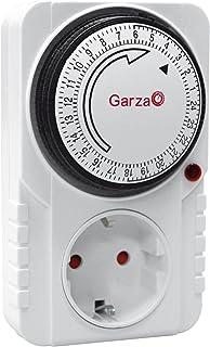 Garza 400600 Temporizador analógico, Blanco