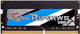 G.SKILL 8GB Ripjaws DDR4 SO-DIMM DDR4 3200 (PC4-25600) 260-Pin Laptop Memory Model F4-3200C16S-8GRS