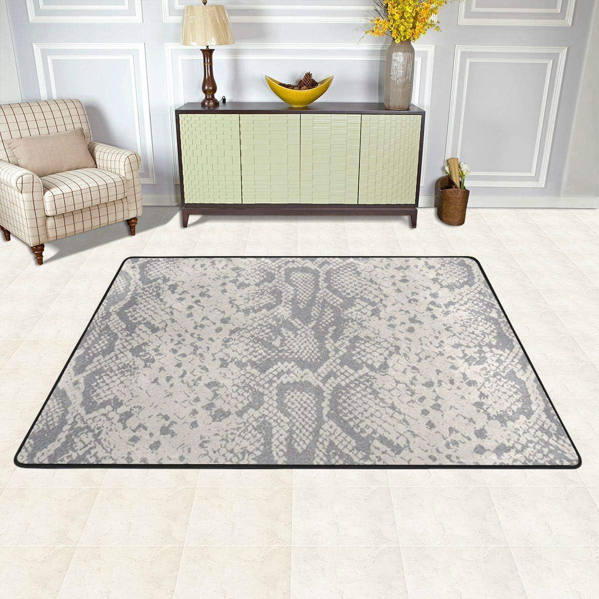 Classic お値打ち価格で Carpet for Office Bathtub M Animal Snakeskin 最新アイテム Decoration