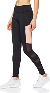 PUMA Women's Sharp Shape Blk Peac Active Tights