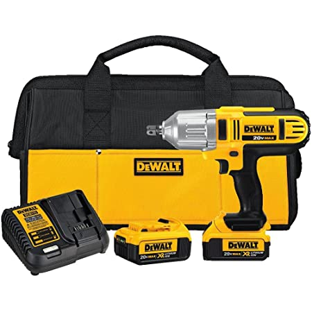 Dewalt 20v Max Impact Wrench Kit High Torque Detent Pin Anvil 1 2 Inch Dcf889m2 Power Impact Wrenches Amazon Com