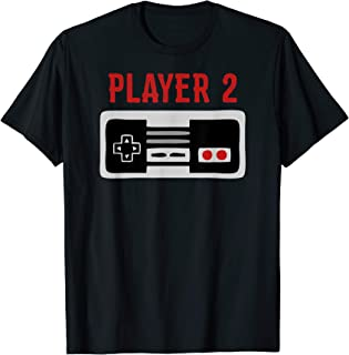 Matching Family Shirt Player 2 Video Game Shirt