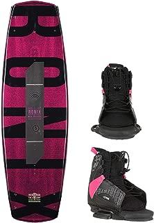RONIX Limelight ATR SF Wakeboard Womens Sz 132cm + CTRL Bindings Sz S/M (5-8.5)