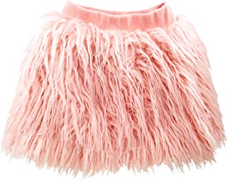YOHA Baby Girls Winter Warm Fluffy Soft Plush Mongolian Faux Fur Toddler Skirt