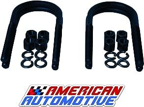 American Automotive Cherokee XJ Rear Suspension Lift U Bolts 4PCS 6.5