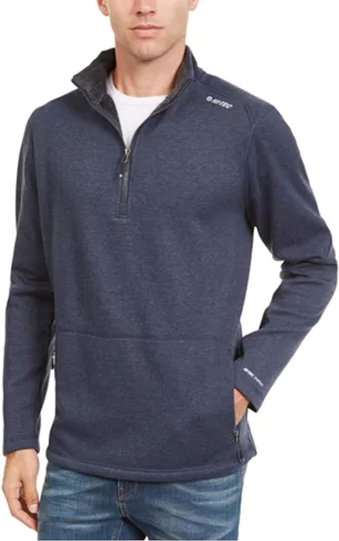 Hi-Tec Men's Wood Jacksonville Mall Point Mink Sweater J Thermo-Fleece Zip San Francisco Mall Quarter