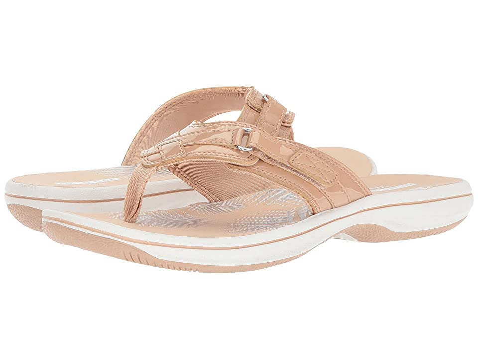 Clarks Breeze Sea (Nude Synthetic Patent) Women