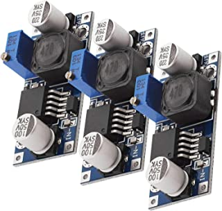 AZDelivery 3 x LM2596S DC-DC Voeding Adapter Step Down Module compatibel met Arduino inclusief E-Book!