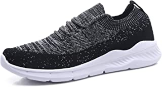 EXEBLUE Men's Casual Gym Shoes Mesh Lightweight Walking Running Sneakers
