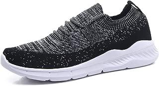 EXEBLUE Men's Casual Gym Shoes Mesh Lightweight Walking Running Sneakers
