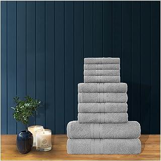 GC GAVENO CAVAILIA Premium 100% Combed Cotton Bath Sheets Set, Super Soft and Highly Absorbent Bathroom Towels, Toronto, S...