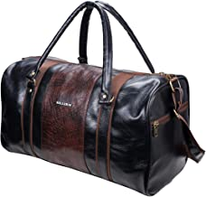 KILLER Polyester PU 30 L Cabin Size Black Duffle Bag