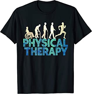 Evolution of physical therapy PT PTA gift tshirt