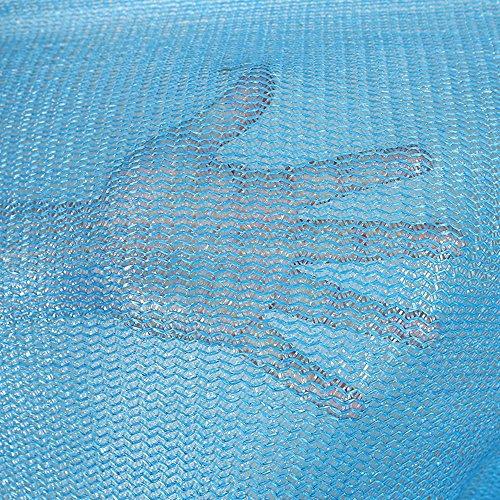 HUO Maille Bleue De Filet De Sun De Filet De Jardin Extérieur De Filet D'ombre - Maille Fine Forte (Couleur : Bleu, Taille : 2 * 100m)