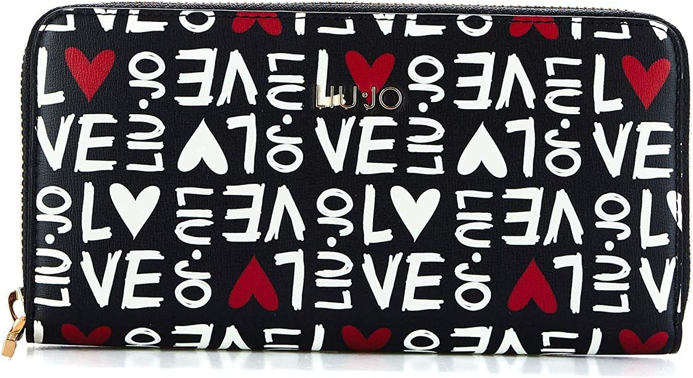 Liu Jo Women's N19174E001000054 Black Polyester Wallet