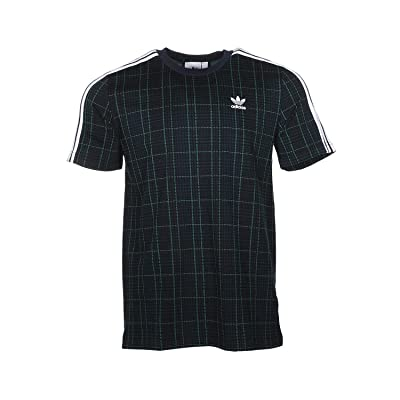 adidas Originals Tartan Tee (Multicolor/Collegiate Navy) Men