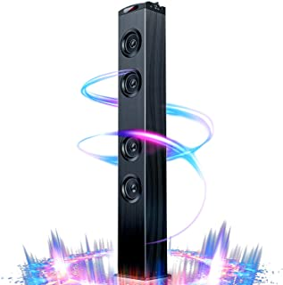 Floor Standing Bluetooth Tower Speaker, Floor Speakers for Home Stereo System, Floor Standing Speakers Home Theater, VENLO...