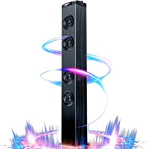 Floor Standing Bluetooth Tower Speaker, Floor Speakers for Home Stero System, Floor..