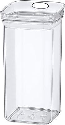 Kela ケラ ストレージジャー クリアー サイズ:10.5×10.5×H21cm 1.2L Jule 12052