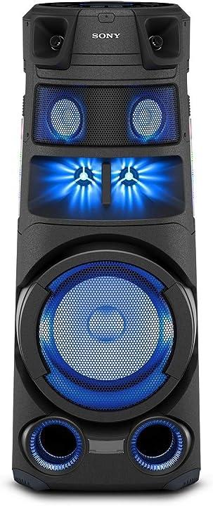 Altoparlante sony mhc-v83d bluetooth all in one con jet bass booster effetti luminosi lettore cd usb B08GCXYN32