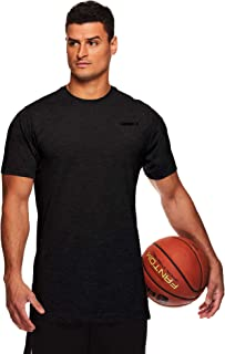 AND1 Men's Performance Basketball Tee - Short Sleeve Gym & Training Activewear T Shirt