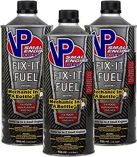 VP Racing Fuels 6635 Fix-It Fuel, Fixes Poor or Non-Running Engines, 3 Quarts