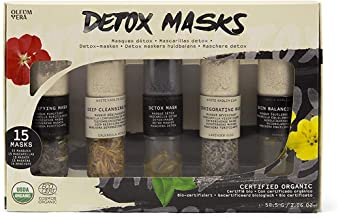 Oleum Vera – Detox Masks, DIY Beauty Kit - Make your own Skincare at Home – Organic Ingredients