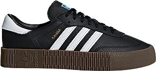 Samba Blanca y Negra. Zapatillas para Mujer con Plataforma. Deportivas. Sneaker.