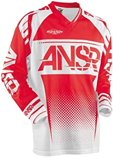 X-Large 244-02122 Shot Score Mens Off-Road Motorcycle Jersey Red//White