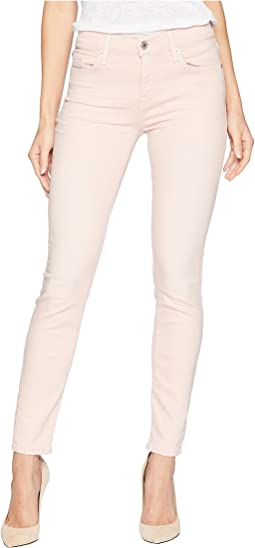 Ankle Skinny in Pink Tint Sandwashed Twill