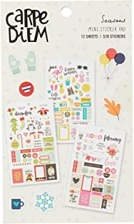 Simple Stories 7983 Planning Essentials Mini autocollants Multicolore