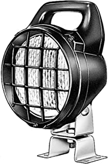 HELLA H15470001 12V H3 Matador Work Lamp with Grille and Switch