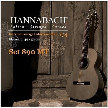 Hannabach 653067.0 - Cuerdas para guitarra clásica: Amazon.es ...