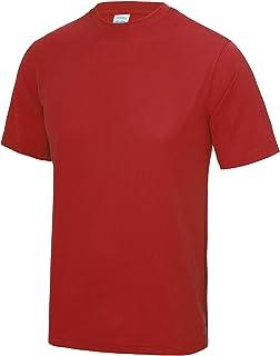 Just Cool Mens Performance Plain T-Shirt